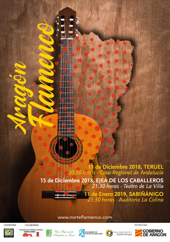 aragon flamenco cartel